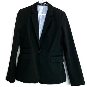 Express black blazer padded shoulders